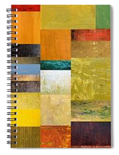 Skinny Color Study L Spiral Notebook