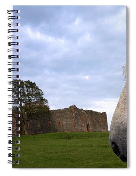 Skipness Castle Spiral Notebook