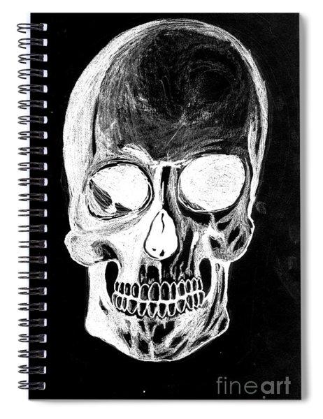 Skull Study 3 Spiral Notebook