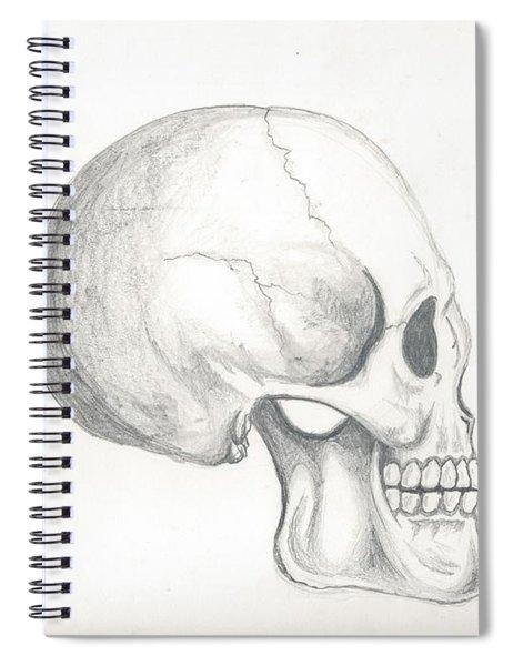 Skull Study Spiral Notebook