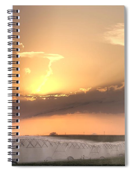 Sky And Water Spiral Notebook
