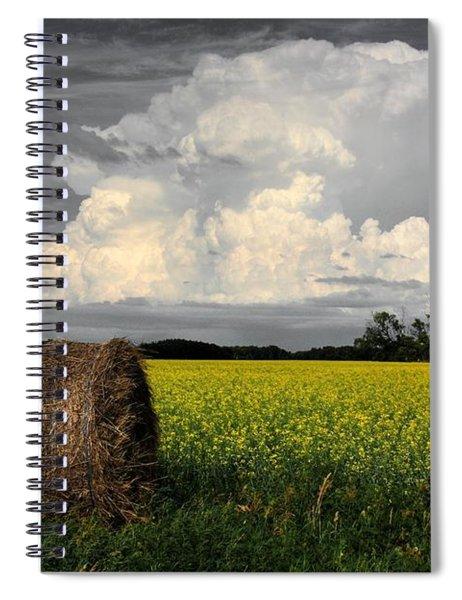 Sky Bale Spiral Notebook