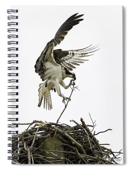 Sky Ballet Spiral Notebook