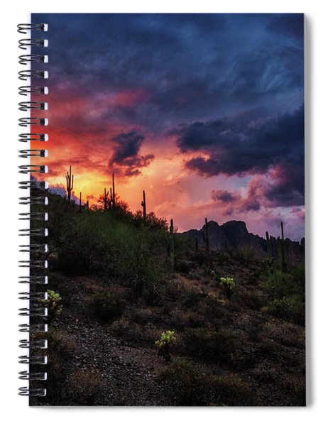 Sky Candy Spiral Notebook