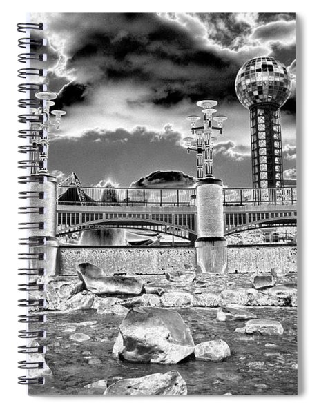 Sky Dome - Se1 Spiral Notebook