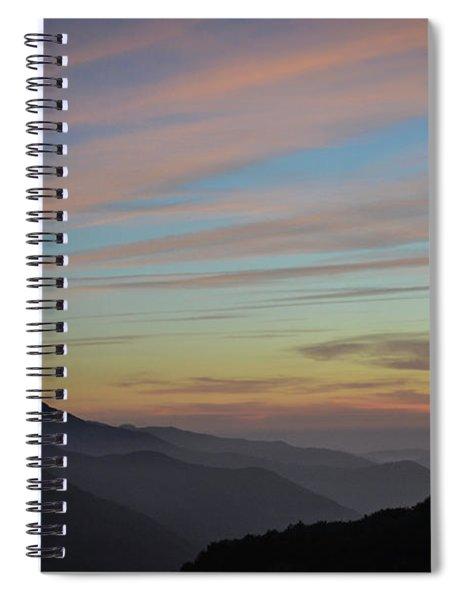 Sky Haze Spiral Notebook