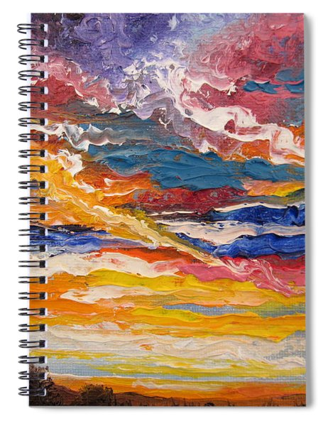 Sky In The Morning.             Sailor Take Warning  Spiral Notebook