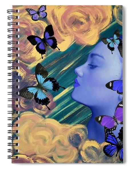 Sky Maiden Spiral Notebook