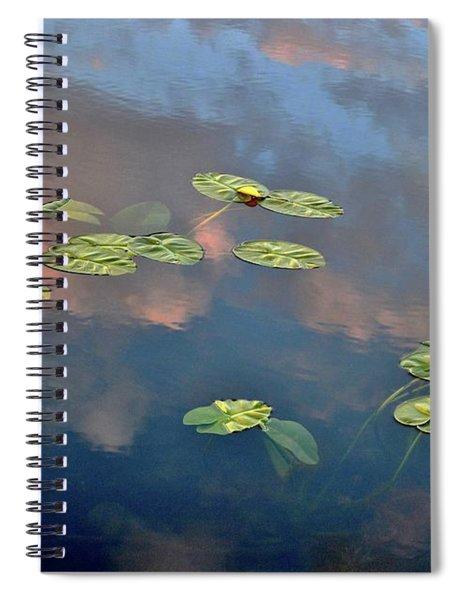 Sky Meets Water Spiral Notebook