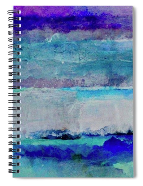 Sky Striations Spiral Notebook