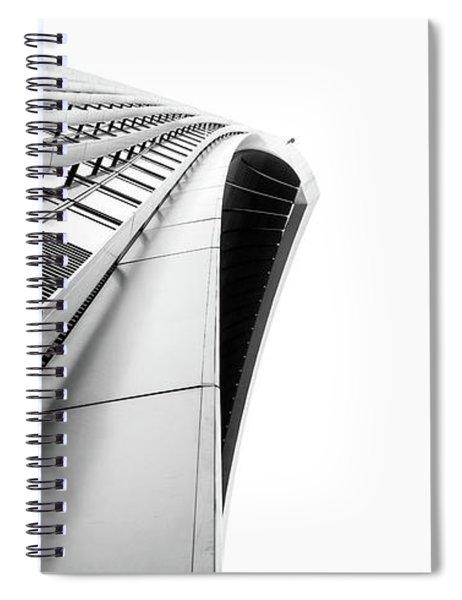 Skygarden Exterior London Spiral Notebook