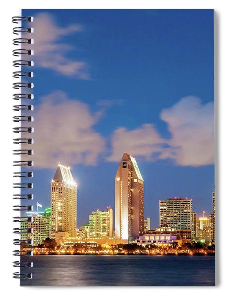 Skyline In The Wind Spiral Notebook