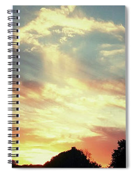 Skyscape Spiral Notebook