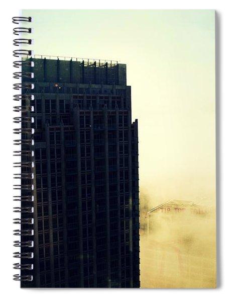 Skyscraper Spiral Notebook