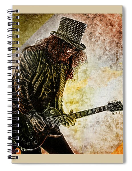 Slash - Guitarist Spiral Notebook