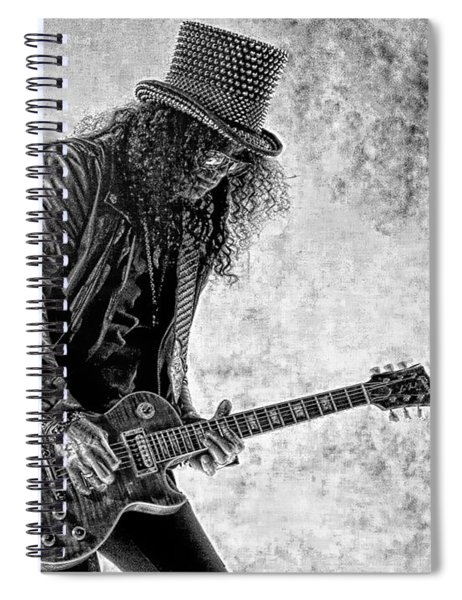 Slash - Guns And Roses Spiral Notebook