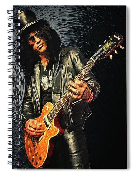 Slash Spiral Notebook