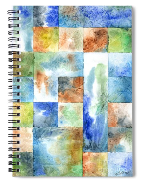 Slated Watercolor Spiral Notebook