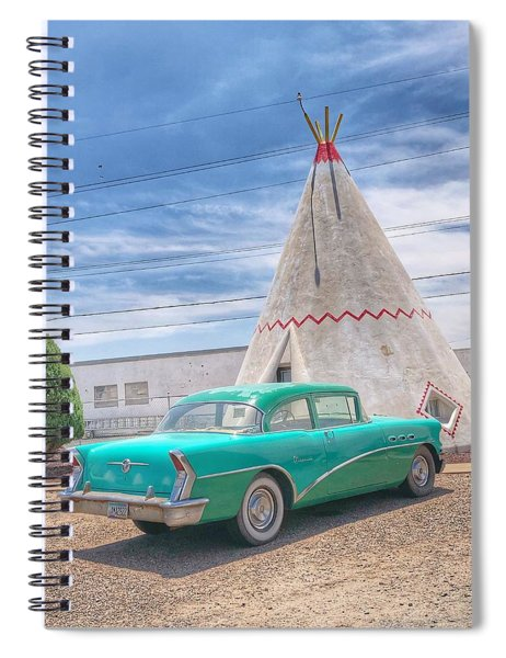 Sleep In A Wigwam Spiral Notebook