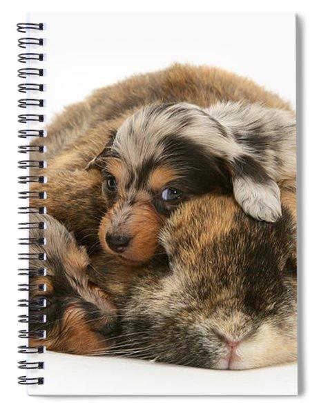Sleep In Camouflage Spiral Notebook