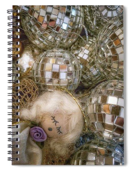 Sleeping Angel Spiral Notebook