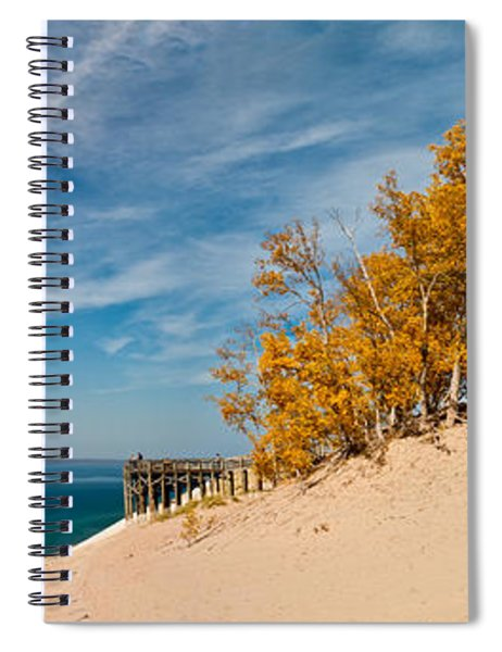 Sleeping Bear Overlook Spiral Notebook