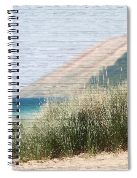 Sleeping Bear Sand Dune Spiral Notebook