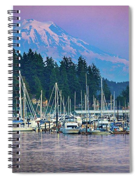 Sleeping Giant Spiral Notebook