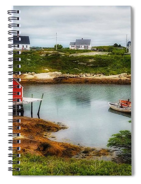 Sleepy Seascape Spiral Notebook