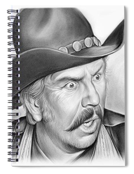 Slim Pickens Spiral Notebook