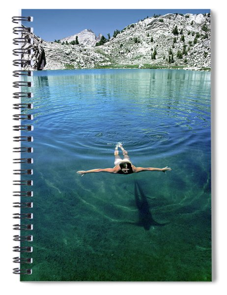 Slip Into Something Comfortable Spiral Notebook