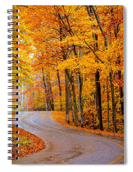 Slippery Color Spiral Notebook