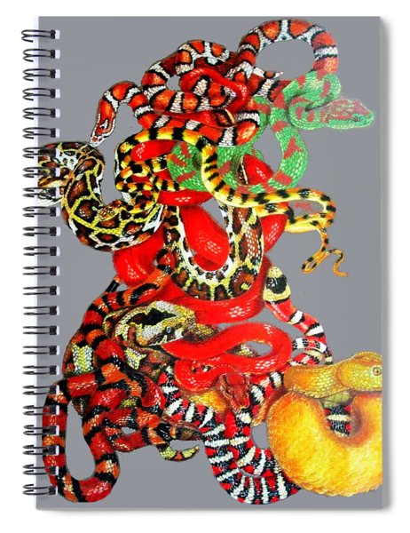 Slither Spiral Notebook