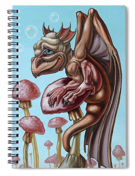 Slithy Tove Spiral Notebook