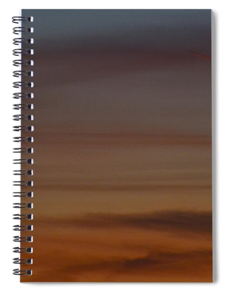 Sliver Spiral Notebook
