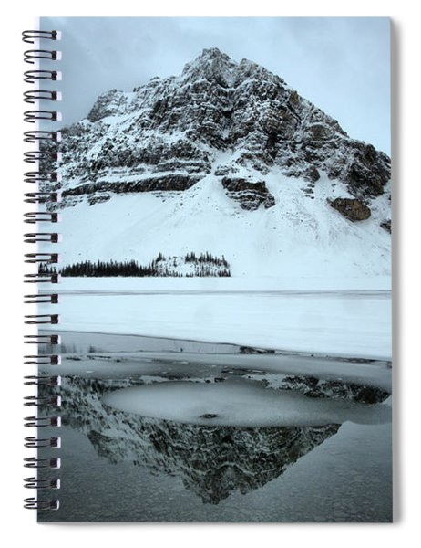 Slivers Of Ice In The Reflections Spiral Notebook