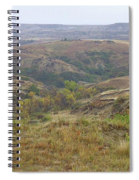 Slope County In The Rain Spiral Notebook