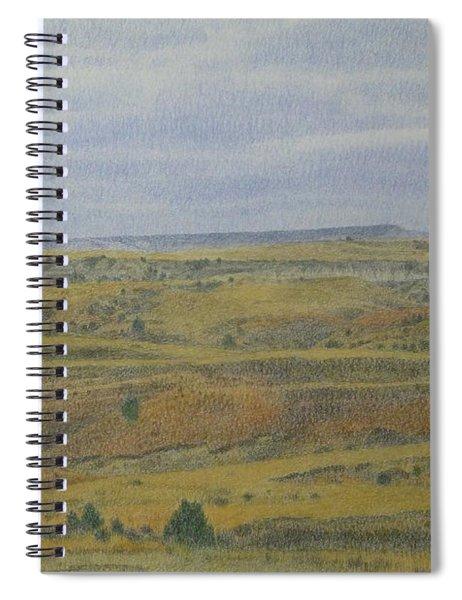 Slope County Splendor Spiral Notebook