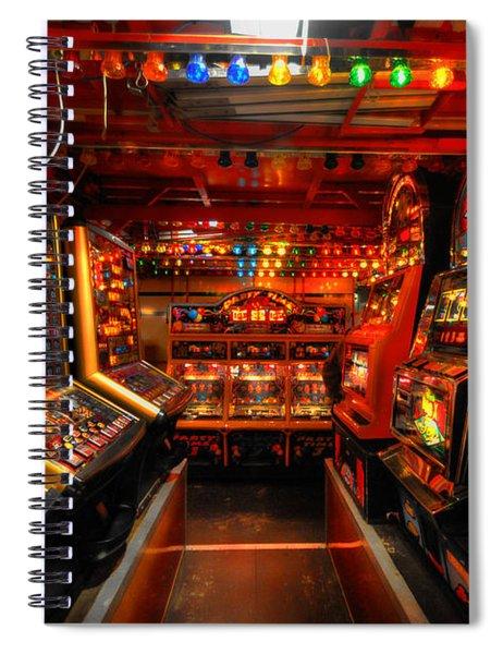 Slot Machines Spiral Notebook