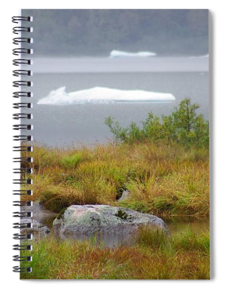 Slowly Floating By Spiral Notebook