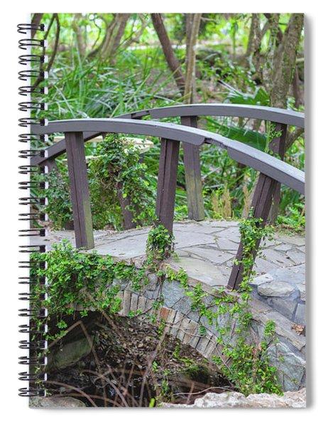 Small Brown Bridge Spiral Notebook