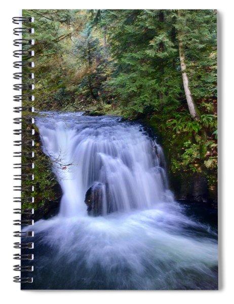 Small Cascade Spiral Notebook