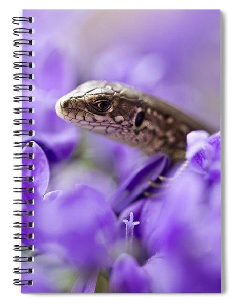 Small Lizard Spiral Notebook
