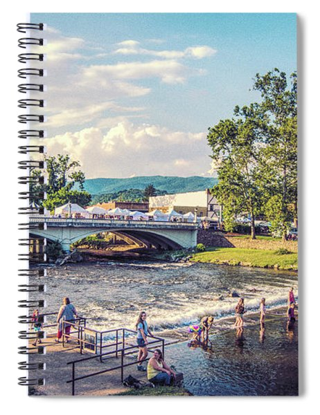 Small Town America Spiral Notebook