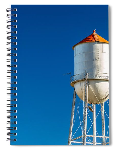 Small Town Water Tower Spiral Notebook