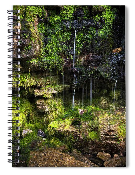 Small Waterfall Spiral Notebook