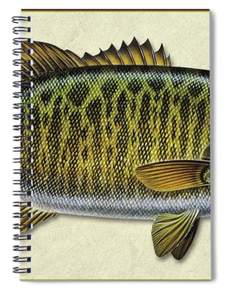 Smallmouth Bass Id Spiral Notebook