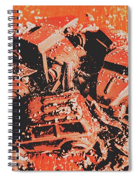 Smashem Crashem Cars Spiral Notebook