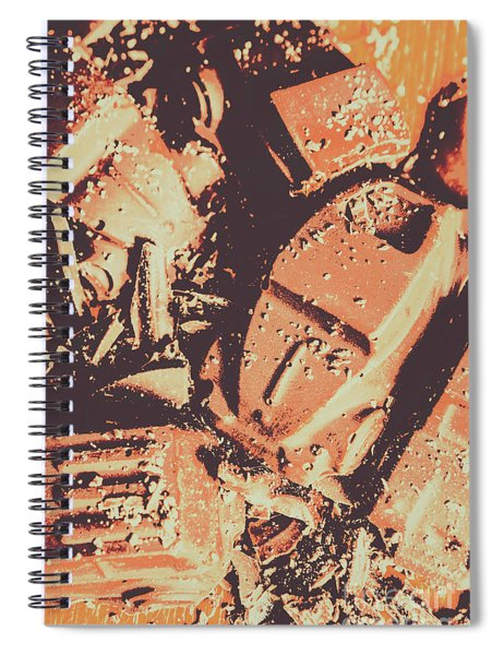 Smashing Party Spiral Notebook
