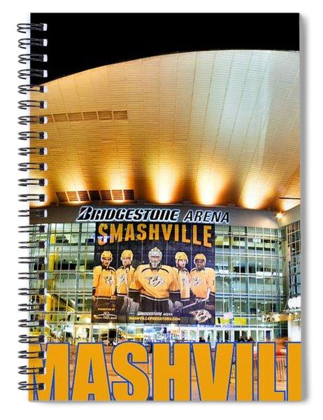 Smashville Spiral Notebook